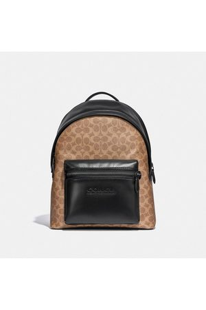Coach Charter Backpack In Signature Canvas in /