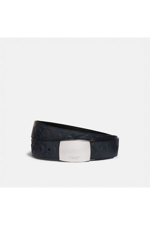 Coach Plaque Buckle Cut-to-size Reversible Belt, 38mm in - Size 42