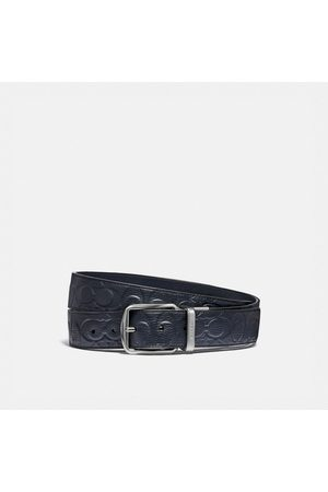 Coach Harness Buckle Cut-to-size Reversible Belt, 38mm in - Size 42