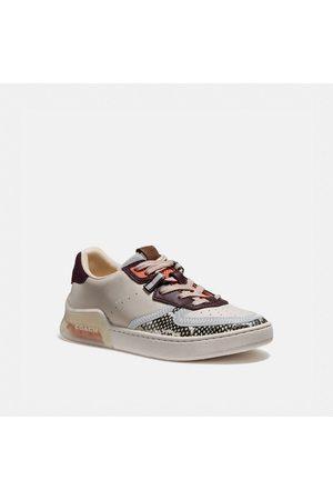 Coach Citysole Court Sneaker In Snakeskin in Multi - Size 10 B