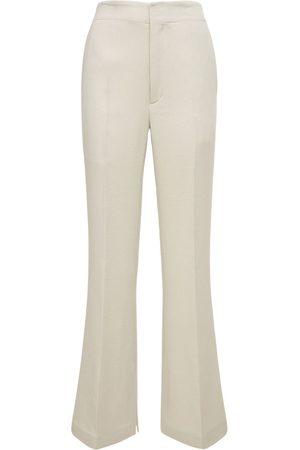 AMBUSH Women Trousers - High Rise Peyote Wide Pants