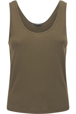James Perse Relaxed Cotton Ribbed Tank Top