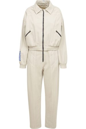 McQ Fantasma Cotton Blend Jumpsuit