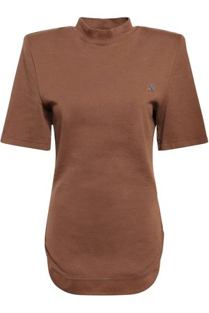The Attico Tessa Cotton Jersey T-shirt
