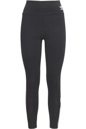 adidas Women Trousers - High Waisted Leggings