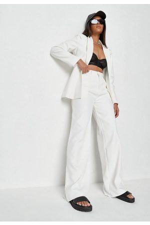 Missguided Women Trousers - Co Ord Tailored Seam Masculine Trousers