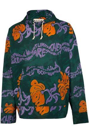 Marni Women Sweatshirts - Printed hoodie