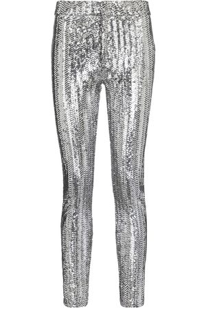 Isabel Marant Todiz sequined high-rise skinny pants