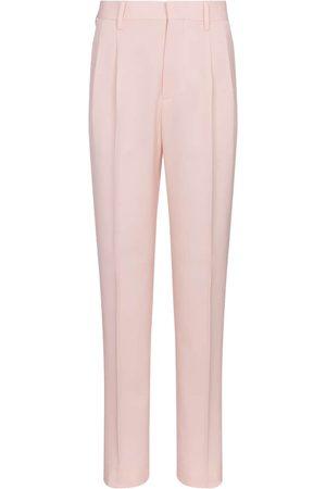 Stella McCartney Julien high-rise slim wool pants
