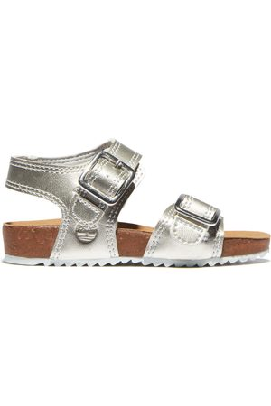 Timberland Castle island sandal for toddler in silver silver kids, size 4.5