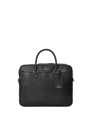 Polo Ralph Lauren Men Laptop & Business Bags - Leather Briefcase Bag