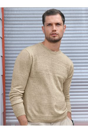 Louis Sayn Round neck jumper a textured knitted chest size: 38