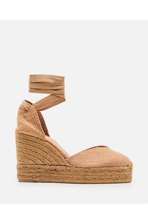 Castaner Chiara canvas espadrille with wedge of 11cm size 35