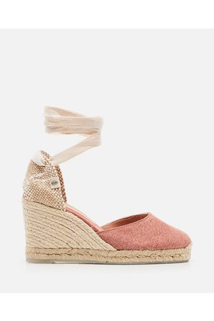 Castaner Women Wedges - Carina Espadrille wedge canvas 9 cm size 35