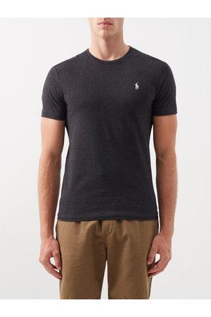 Polo Ralph Lauren Men Short Sleeve - Logo-embroidered Cotton-jersey T-shirt - Mens