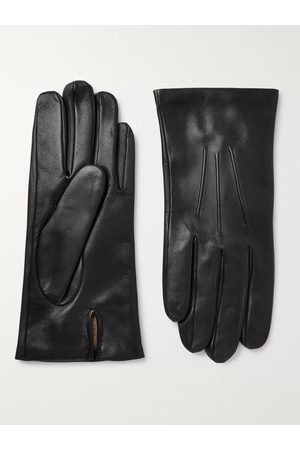 Dents Men Gloves - Bath Cashmere-Lined Leather Gloves