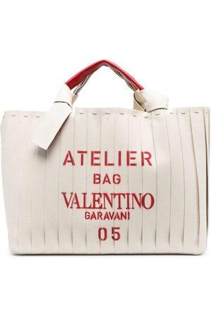 VALENTINO GARAVANI Small Atelier tote bag - Neutrals