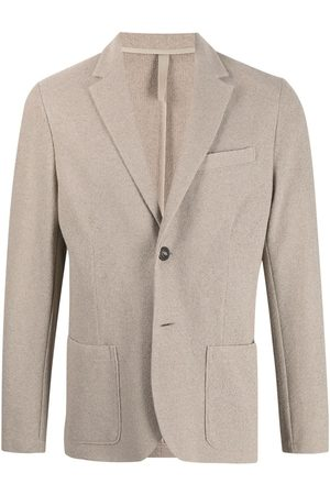 adidas Notch-lapel single-breasted blazer - Neutrals
