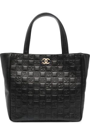 CHANEL Women Handbags - 2003-2004 Choco Bar Icon tote bag