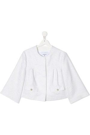Dondup Blazers - TEEN metallic bell-sleeves jacket