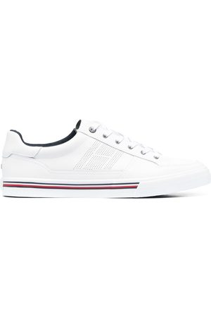 Tommy Hilfiger Men Trainers - Stripe-detail lace-up trainers
