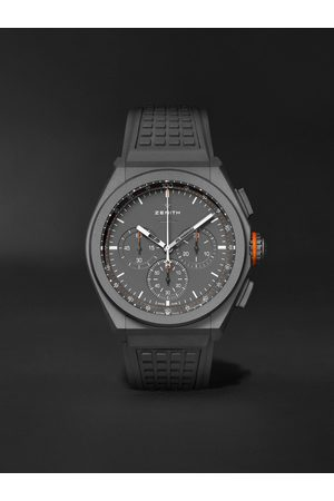 Zenith Men Watches - Defy El Primero 21 Land Rover Limited Edition Automatic Chronograph 44mm Titanium and Rubber Watch, Ref. No. 97.9000.9004/01.R787