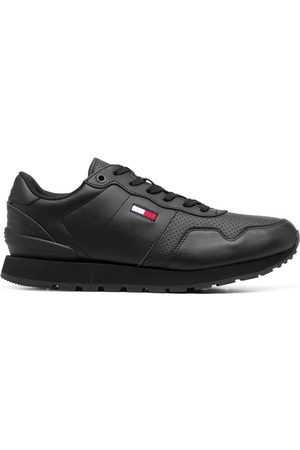 Tommy Hilfiger Logo-patch lace-up trainers