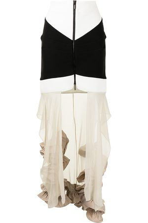 MATICEVSKI Frelate tiered skirt