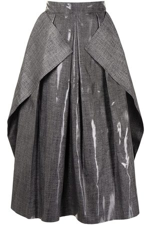 MATICEVSKI Fondness pleated crepe skirt