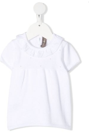 LITTLE BEAR Short-sleeved knitted dress