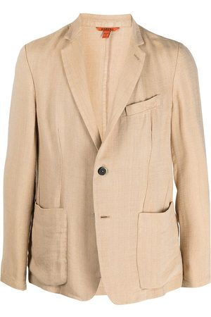 BARENA Single-breasted tailored blazer - Neutrals