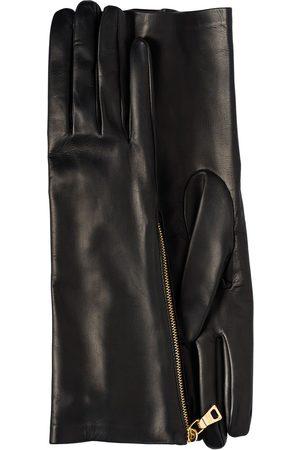Prada Zipper detail gloves