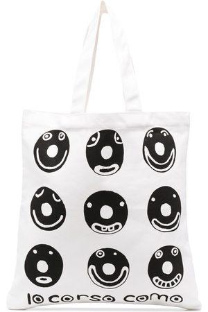 10 CORSO COMO Women Handbags - Graphic logo print tote bag