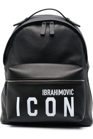 Dsquared2 X Ibrahimović Icon leather backpack