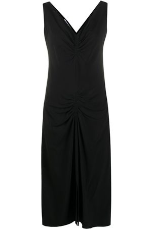 Dior 2000s pre-owned V-neck dress