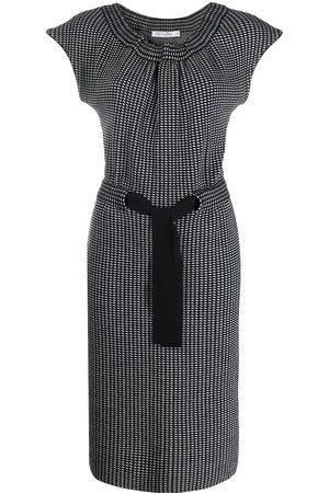 Dior 2000s pre-owned slim-fit dress