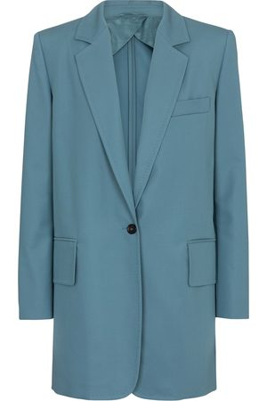 Max Mara Marsala cotton and gabardine blazer