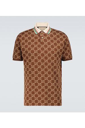 Gucci GG stretch-cotton polo