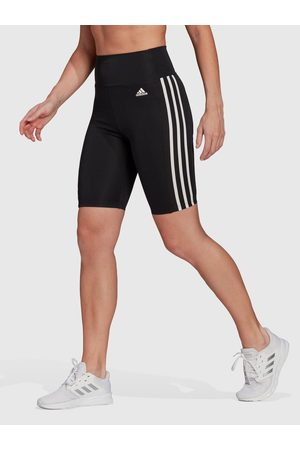 Adidas 3 Stripe Cycling Shorts - /