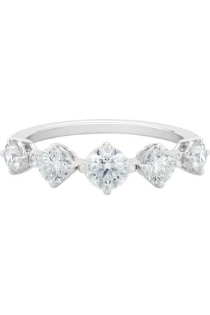 De Beers White Gold and Diamond Arpeggia Ring