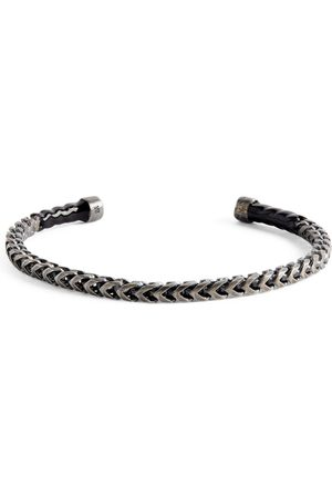 MARCO DAL MASO Oxidised Cuff Bracelet