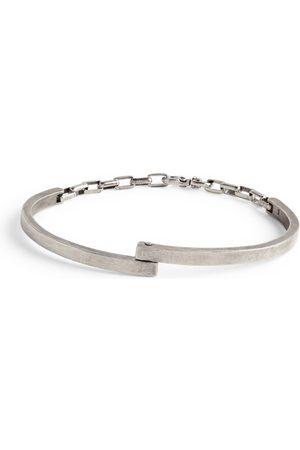 TITLE OF WORK Sterling Silver Half-Cuff Chain Bracelet