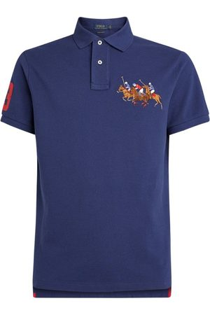 Polo Ralph Lauren Embroidered Match Slim-Fit Polo Shirt
