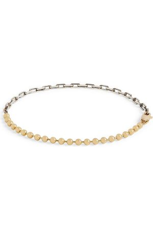 TITLE OF WORK Sterling and Yellow Gold Bracelet