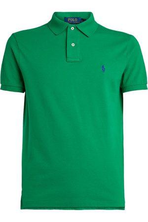 Polo Ralph Lauren Cotton Slim-Fit Mesh Polo Shirt