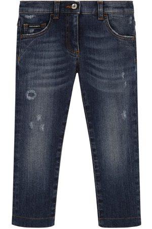 Dolce & Gabbana Kids Pocket-Detail Slim Jeans (2-6 Years)
