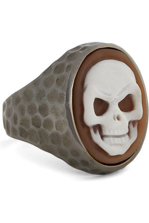 AMEDEO Skull Cameo Ring (One Size)