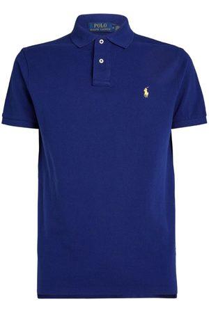 Polo Ralph Lauren Cotton Mesh Custom-Fit Polo Shirt