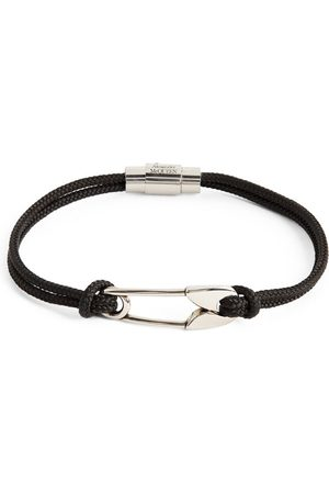 Alexander McQueen Safety Pin Bracelet