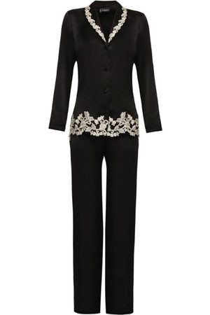 La Perla Embroidered Silk Maison Pyjama Set
